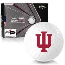 Callaway Golf Chrome Soft X Indiana Hoosiers Golf Balls