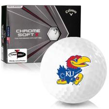 Callaway Golf Chrome Soft X Kansas Jayhawks Golf Balls