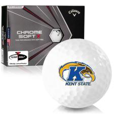 Callaway Golf Chrome Soft X Kent State Golden Flashes Golf Balls