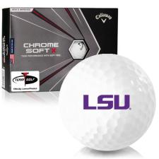 Callaway Golf Chrome Soft X LSU Tigers Golf Balls