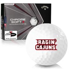 Callaway Golf Chrome Soft X Louisiana Ragin' Cajuns Golf Balls