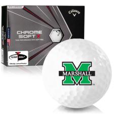 Callaway Golf Chrome Soft X Marshall Thundering Herd Golf Balls