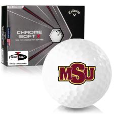 Callaway Golf Chrome Soft X Midwestern State Mustangs Golf Balls