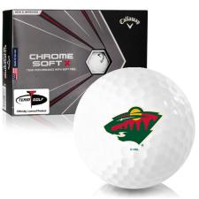 Callaway Golf 2020 Chrome Soft X Minnesota Wild Golf Balls