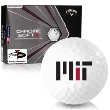 Callaway Golf Chrome Soft X MIT - Massachusetts Institute of Technology Golf Balls