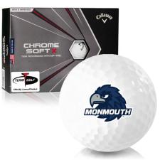 Callaway Golf Chrome Soft X Monmouth Hawks Golf Balls