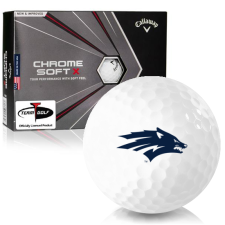 Callaway Golf Chrome Soft X Nevada Wolfpack Golf Balls