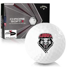 Callaway Golf Chrome Soft X New Mexico Lobos Golf Balls