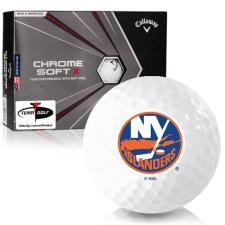 Callaway Golf 2020 Chrome Soft X New York Islanders Golf Balls