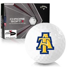 Callaway Golf Chrome Soft X North Carolina A&T Aggies Golf Balls
