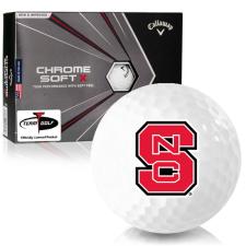 Callaway Golf Chrome Soft X North Carolina State Wolfpack Golf Balls