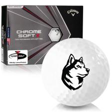 Callaway Golf Chrome Soft X Northeastern Huskies Golf Balls