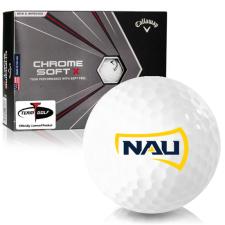 Callaway Golf Chrome Soft X Northern Arizona Lumberjacks Golf Balls