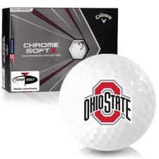 Callaway Golf Chrome Soft X Ohio State Buckeyes Golf Balls