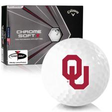 Callaway Golf Chrome Soft X Oklahoma Sooners Golf Balls