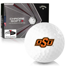 Callaway Golf Chrome Soft X Oklahoma State Cowboys Golf Balls