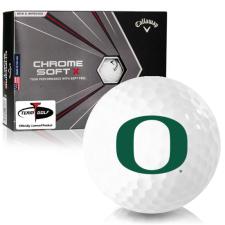 Callaway Golf Chrome Soft X Oregon Ducks Golf Balls