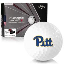 Callaway Golf Chrome Soft X Pittsburgh Panthers Golf Balls