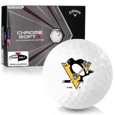 Callaway Golf 2020 Chrome Soft X Pittsburgh Penguins Golf Balls