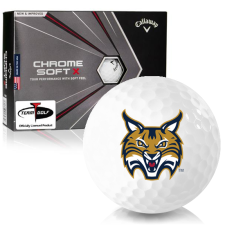 Callaway Golf Chrome Soft X Quinnipiac Bobcats Golf Balls