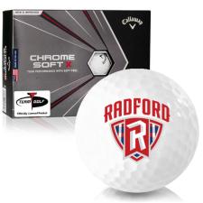 Callaway Golf Chrome Soft X Radford Highlanders Golf Balls