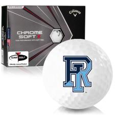 Callaway Golf Chrome Soft X Rhode Island Rams Golf Balls