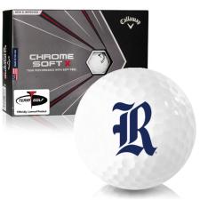 Callaway Golf Chrome Soft X Rice Owls Golf Balls