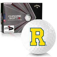 Callaway Golf Chrome Soft X Rochester Yellowjackets Golf Balls
