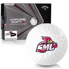 Callaway Golf Chrome Soft X Saint Mary's of Minnesota Cardinals Golf Balls