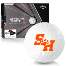 Callaway Golf Chrome Soft X Sam Houston State Bearkats Golf Balls