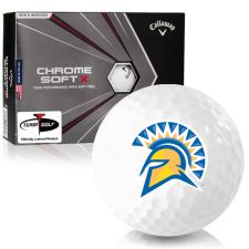 Callaway Golf Chrome Soft X San Jose State Spartans Golf Balls