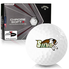 Callaway Golf Chrome Soft X Siena Saints Golf Balls