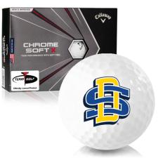 Callaway Golf Chrome Soft X South Dakota State Golf Balls