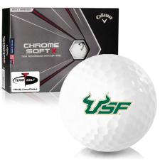 Callaway Golf Chrome Soft X South Florida Bulls Golf Balls