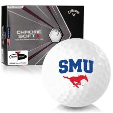 Callaway Golf Chrome Soft X SMU Mustangs Golf Balls