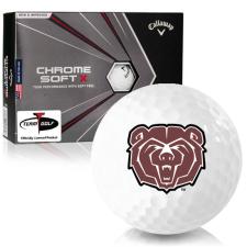 Callaway Golf Chrome Soft X Southwest Missouri State Bears Golf Balls