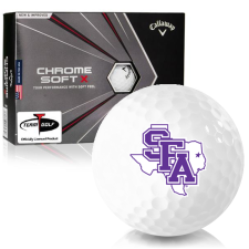 Callaway Golf Chrome Soft X Stephen F. Austin Lumberjacks Golf Balls