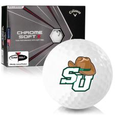 Callaway Golf Chrome Soft X Stetson Hatters Golf Balls