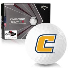 Callaway Golf Chrome Soft X Tennessee Chattanooga Mocs Golf Balls