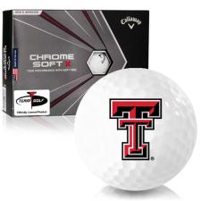 Callaway Golf Chrome Soft X Texas Tech Red Raiders Golf Balls