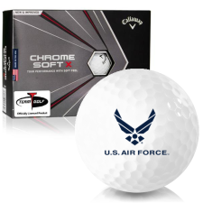 Callaway Golf 2020 Chrome Soft X US Air Force Golf Balls
