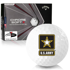 Callaway Golf 2020 Chrome Soft X US Army Golf Balls