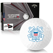 Callaway Golf 2020 Chrome Soft X US Coast Guard Golf Balls