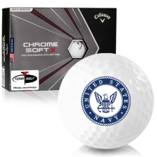 Callaway Golf 2020 Chrome Soft X US Navy Golf Balls
