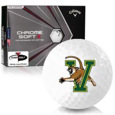 Callaway Golf Chrome Soft X Vermont Catamounts Golf Balls