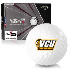 Callaway Golf Chrome Soft X Virginia Commonwealth Rams Golf Balls