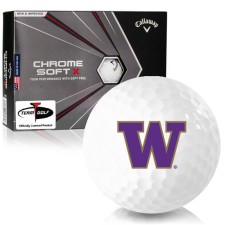 Callaway Golf Chrome Soft X Washington Huskies Golf Balls