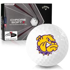 Callaway Golf Chrome Soft X Western Illinois Leathernecks Golf Balls