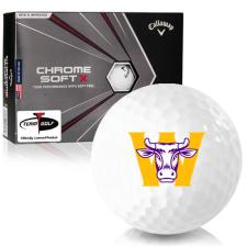 Callaway Golf Chrome Soft X Williams College Ephs Golf Balls