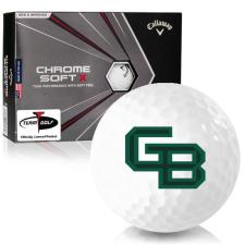 Callaway Golf Chrome Soft X Wisconsin Green Bay Phoenix Golf Balls